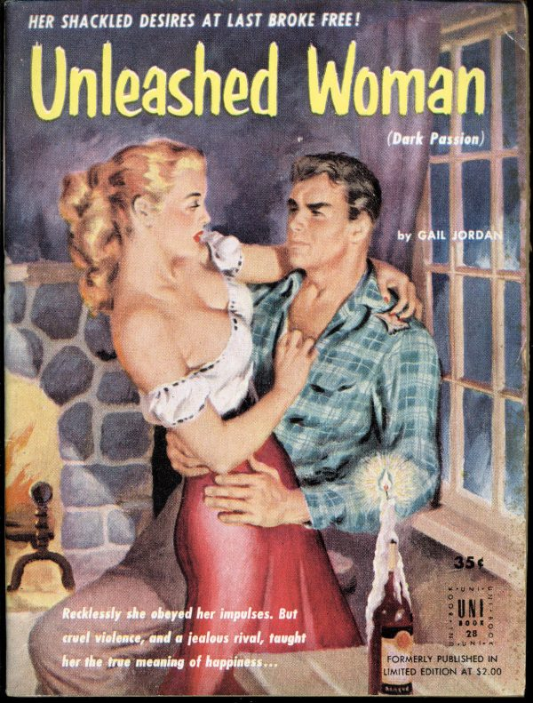 Unleashed Woman - Uni Books - No 28 - Gail Jordan - 1954