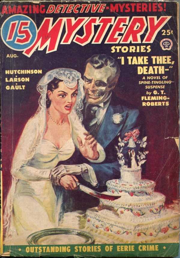 15 Mystery Stories August 1950