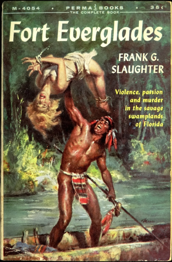 Permabooks M-4054 (Sept., 1958). Sixth printing. Cover Art by James Meese