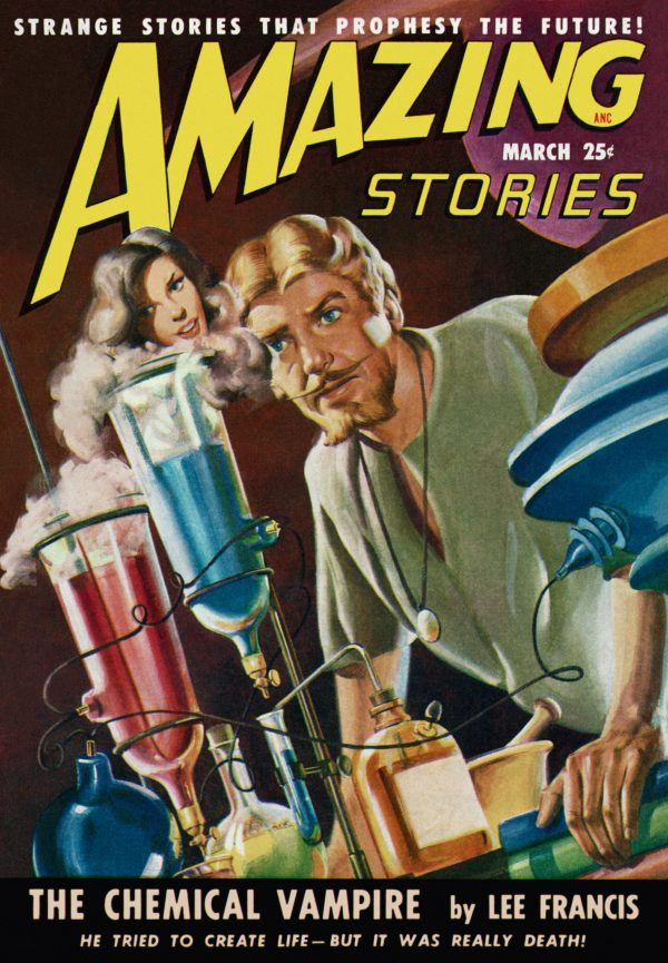 Amazing Stories, March 1949