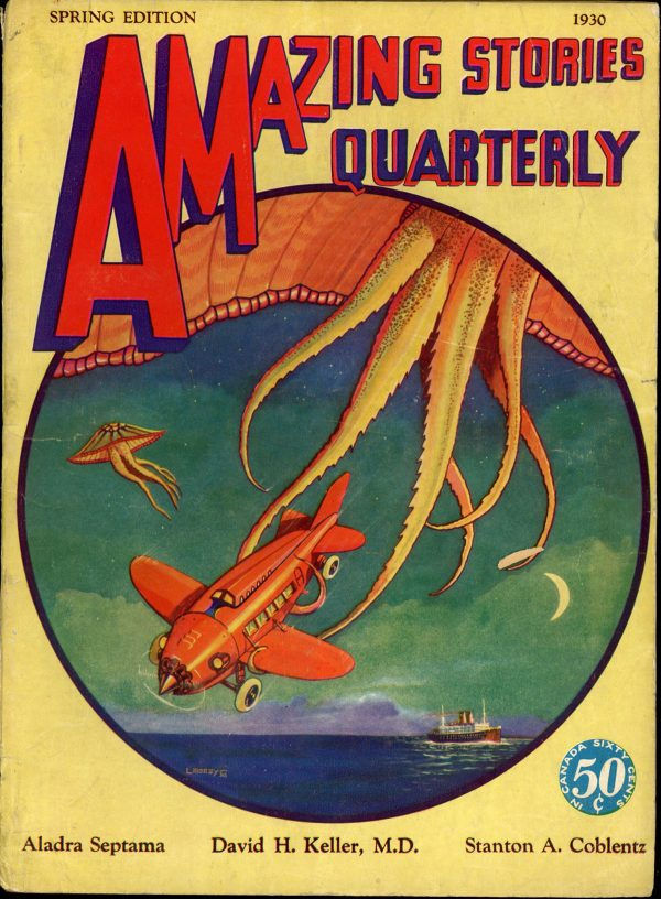 AMAZING STORIES QUARTERLY. Spring 1930