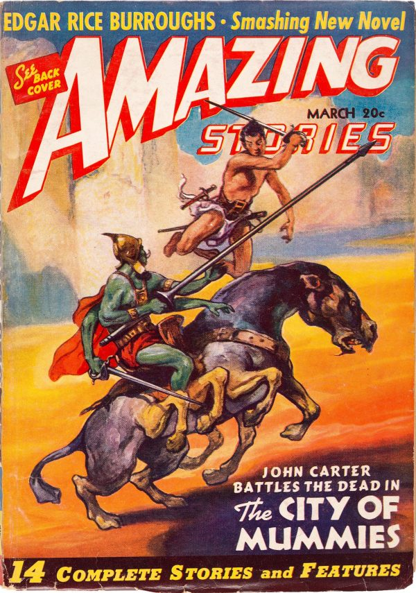 Amazing Stories - March 1941