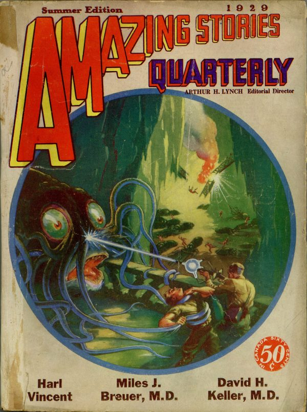 Amazing Stories Quarterly July 1929
