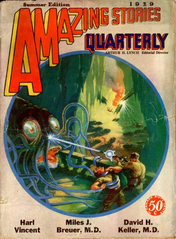 Amazing Stories Quarterly Summer 1929