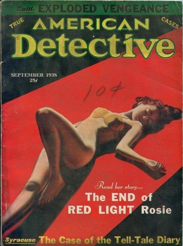 American Detective Magazine September 1938