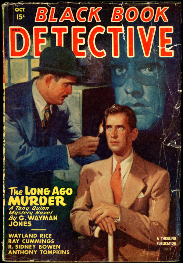 BLACK BOOK DETECTIVE. October 1947