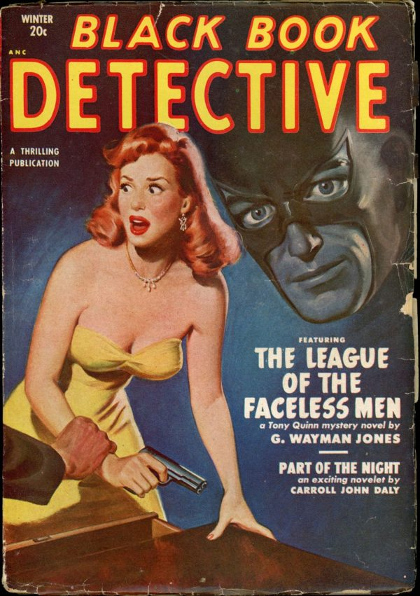 BLACK BOOK DETECTIVE. Winter 1951