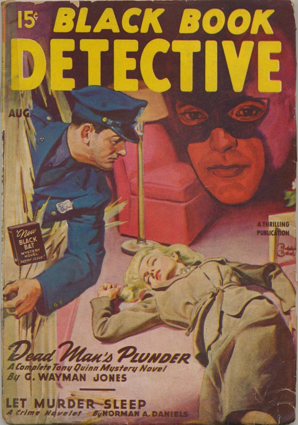 Black Book Detective Aug 1947