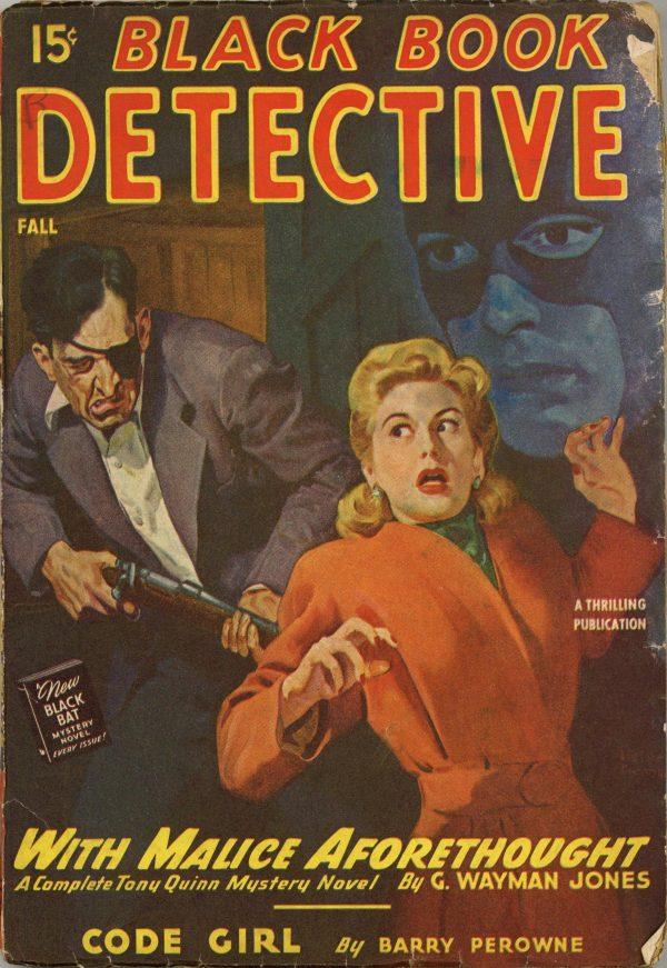 Black Book Detective Magazine September 1946