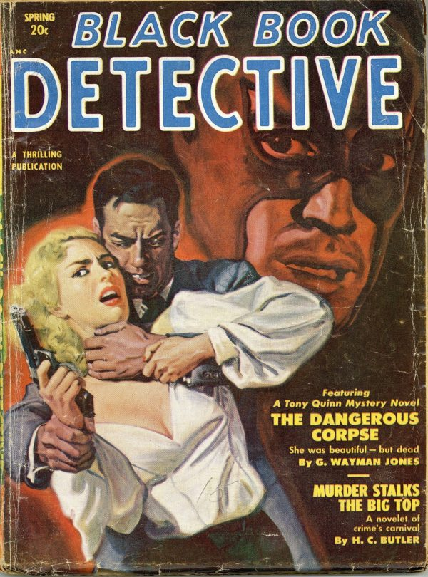 Black Book Detective Magazine Spring 1951