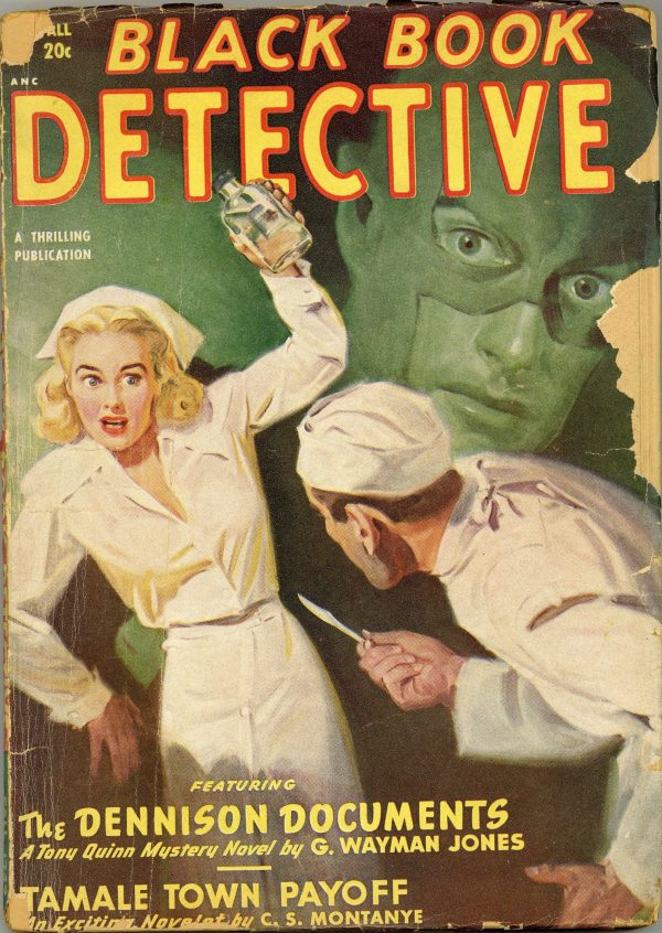 Black Book Detective September 1949