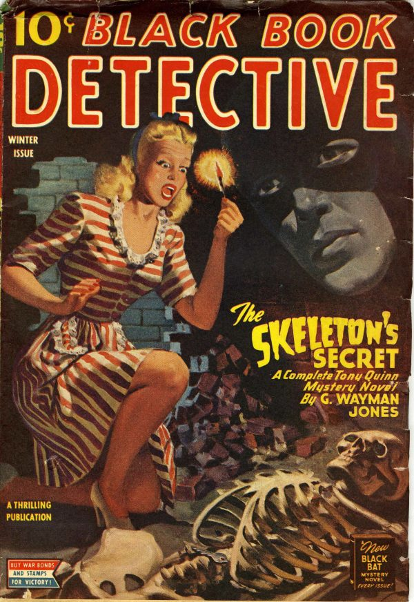 Black Book Detective Winter 1945