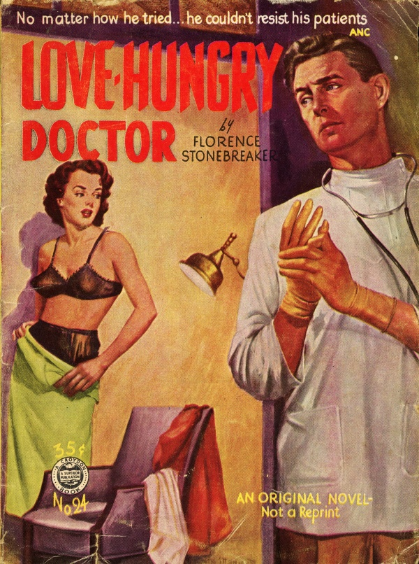 Croydon Books 24 - Florence Stonebreaker - Love-Hungry Doctor