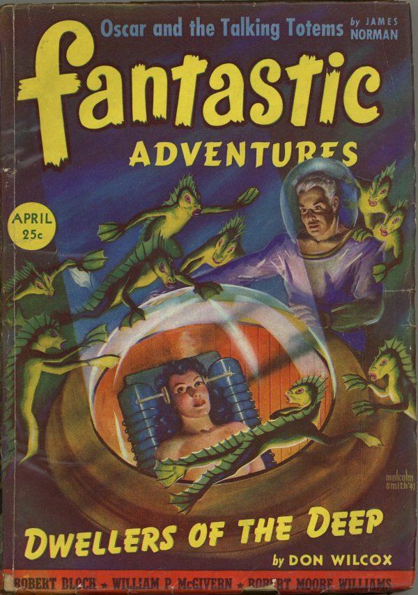 Fantastic Adventures April 1942