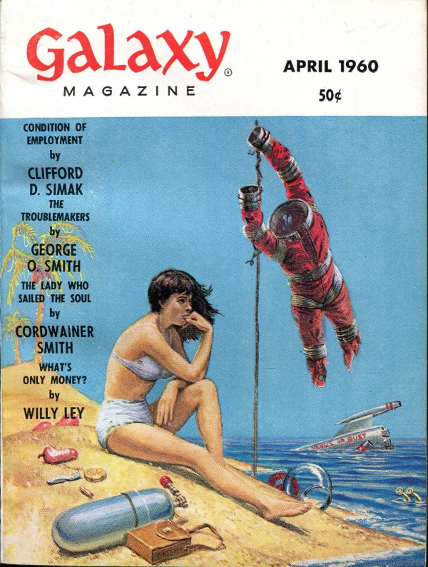 Galaxy SF Digest-April, 1960