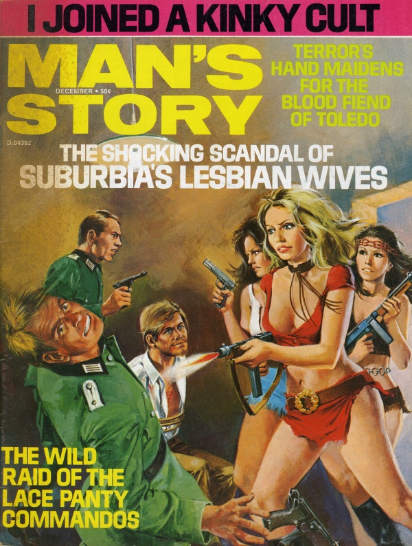 Man's Story Cover December 1973