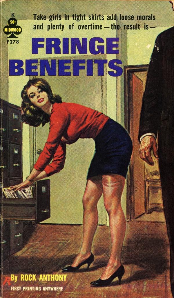 Midwood Books F278 - Rock Anthony - Fringe Benefits