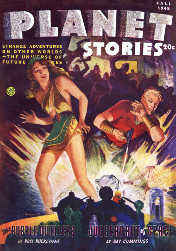 Planet Stories 1945-Fall