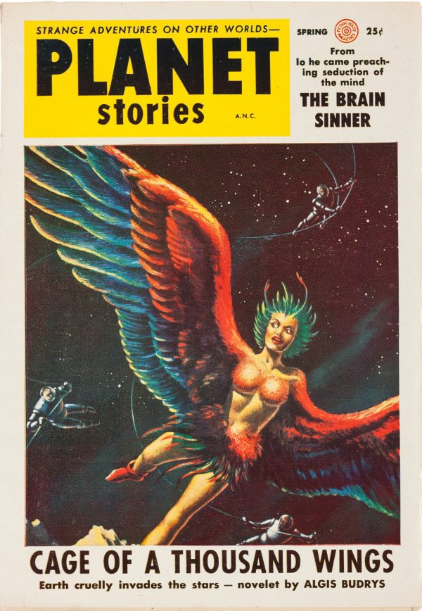 Planet Stories Spring 1954