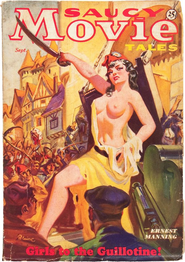 Saucy Movie Tales - September '36