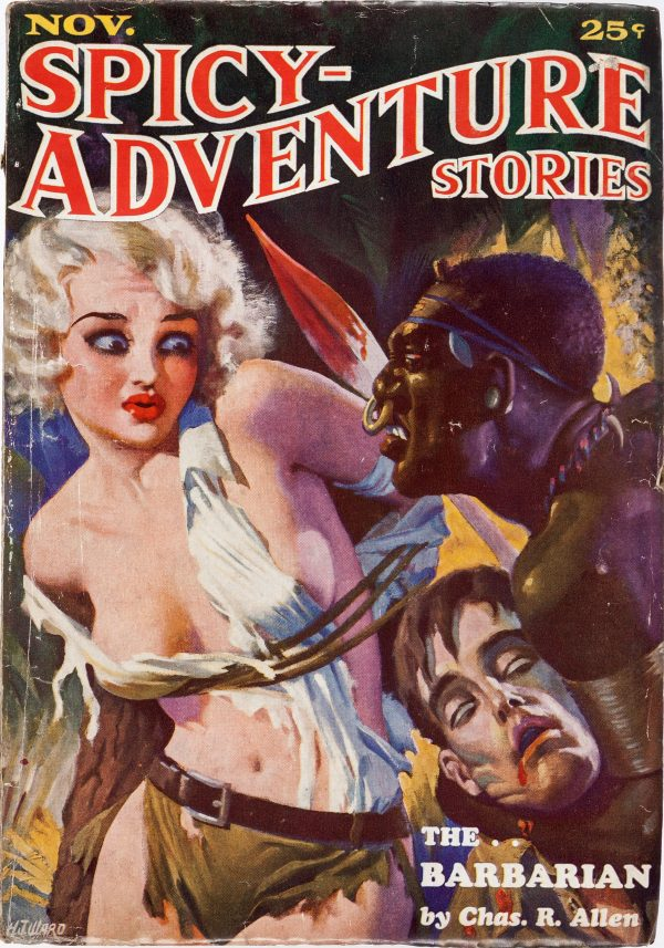 Spicy Adventure Stories - November 1934