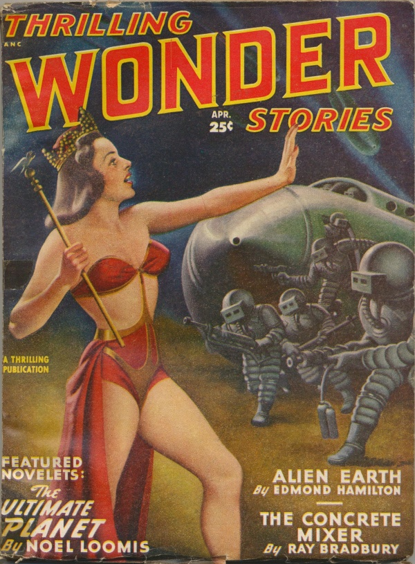 Thrilling Wonder Stories 1949 April