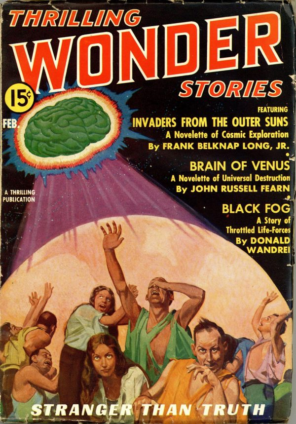 Thrilling Wonder Stories February 1937