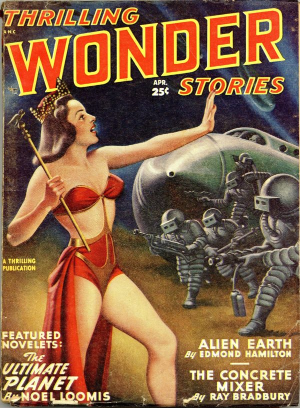 Thrilling Wonder Stories Pulp April 1949