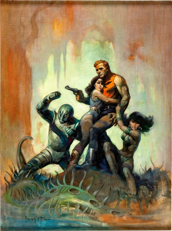 45338956-Frank_Frazetta_The_Solar_Invasion_Paperback_Cover_Original_Art_(Popular_Library,_1968)