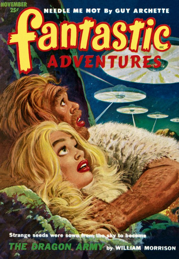 Fantastic Adventures, November 1952