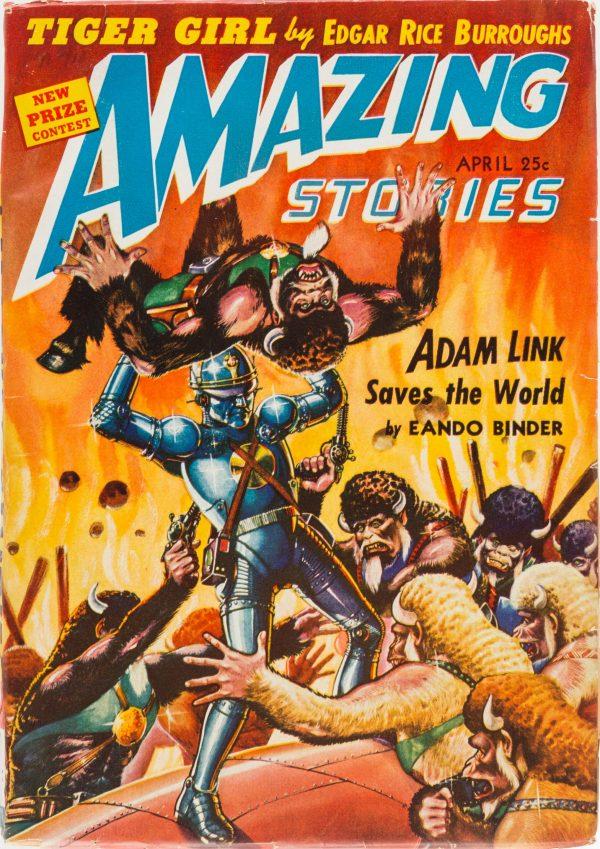 Amazing Stories - April 1942