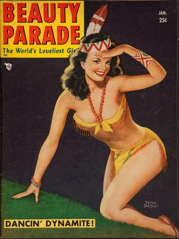 Beauty Parade January 1951