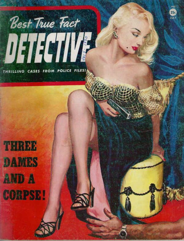 Best True Fact Detective July 1950