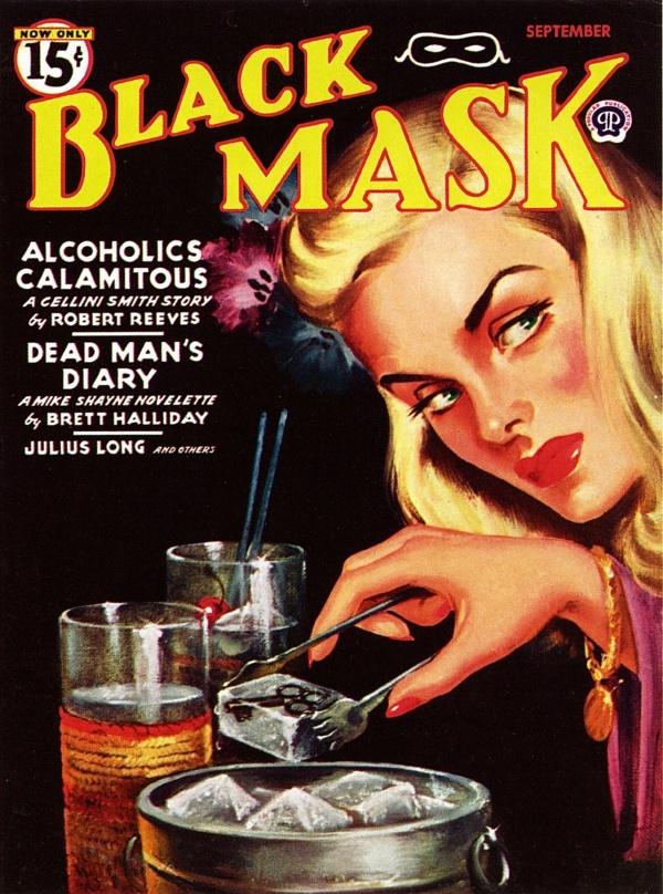 Black Mask - 1945-09