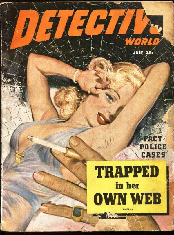 Detective World July 1949