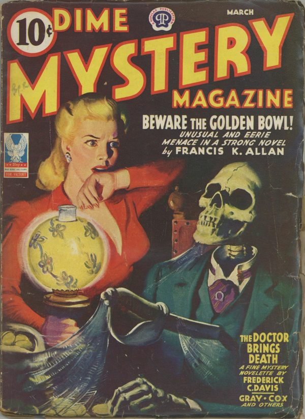 Dime Mystery Magazine March 1943