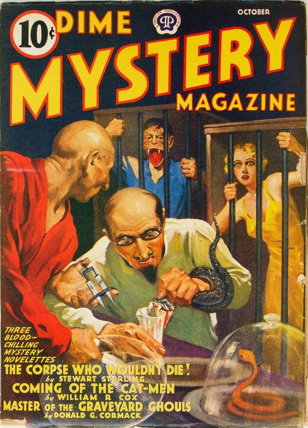 Dime Mystery Magazine - October 1940