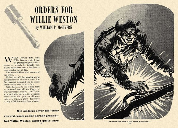 FA 1948-01 - 120-121 Orders For Willie Weston