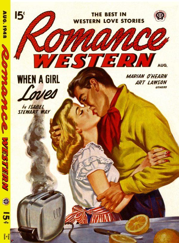 Romance Western August 1948
