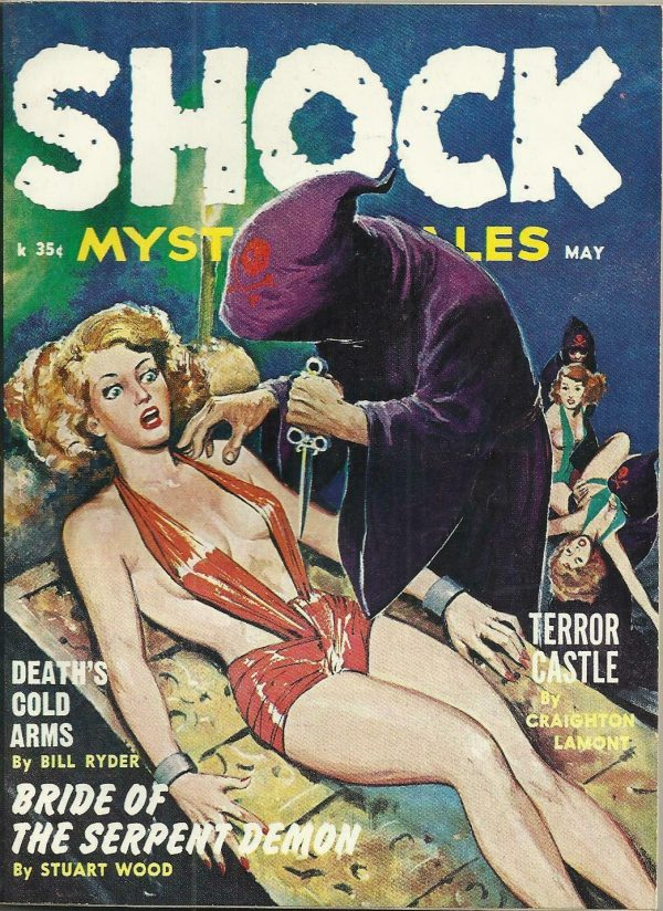 Shock Mystery May 1962