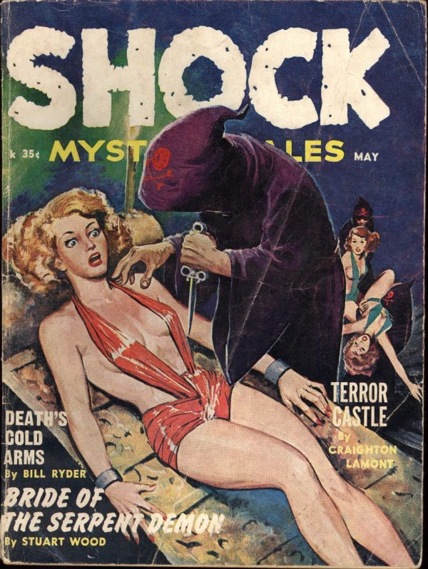 Shock Mystery Stories May 1962