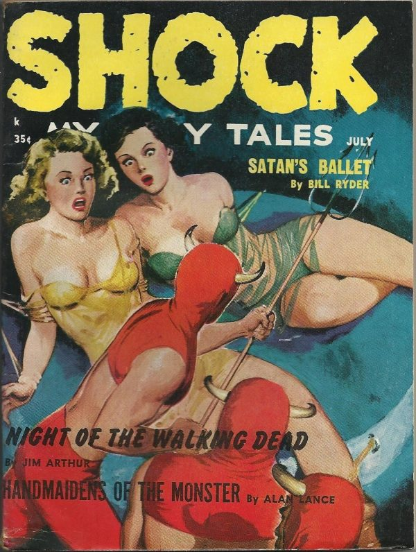 Shock Mystery Tales July 1962
