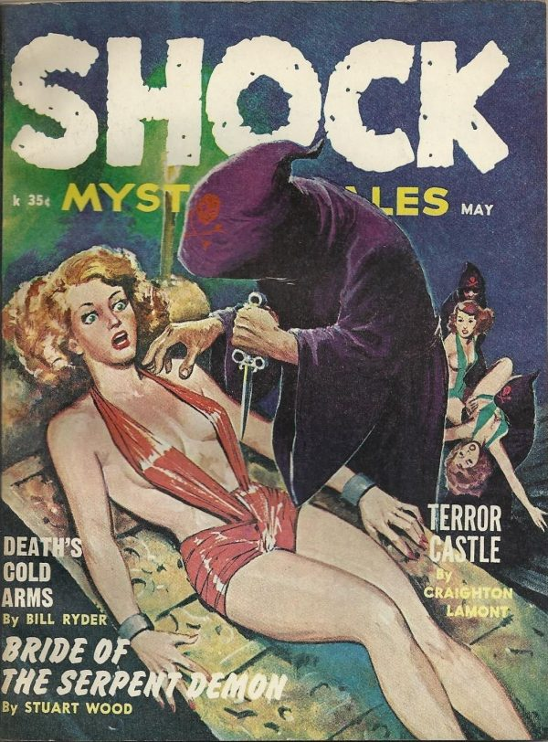 Shock Mystery Tales May 1962