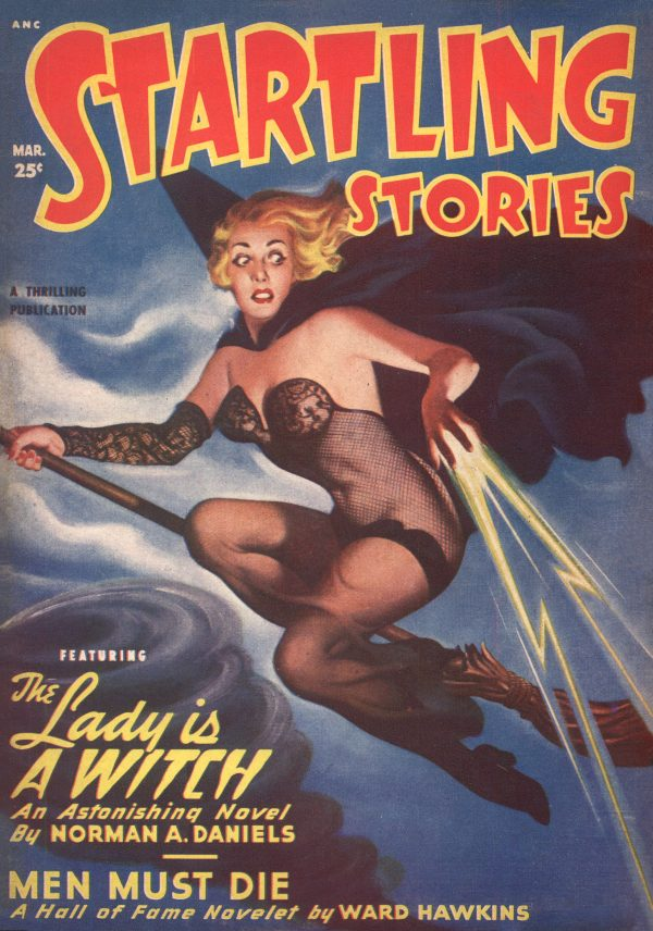 Startling Stories Magazine March 1950