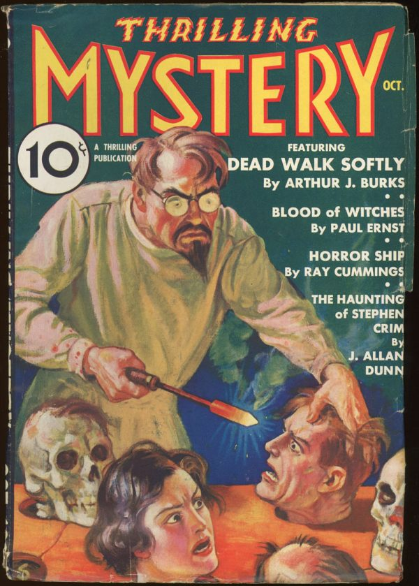THRILLING MYSTERY. October, 1935