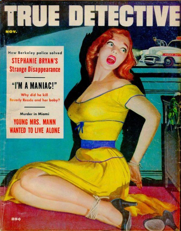 TRUE DETECTIVE Magazine November 1955
