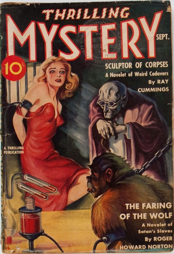 Thrilling Mystery - September 1939