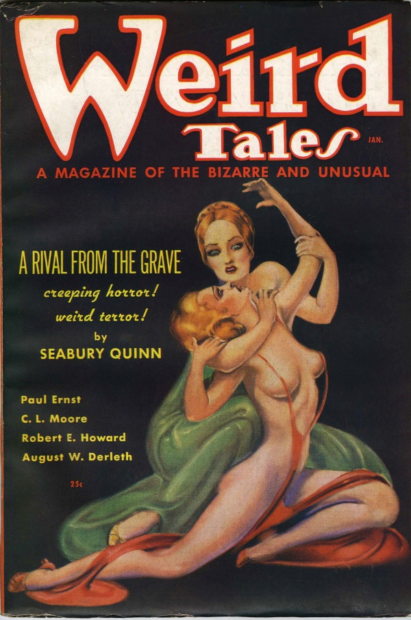 Weird Tales, 1936 January
