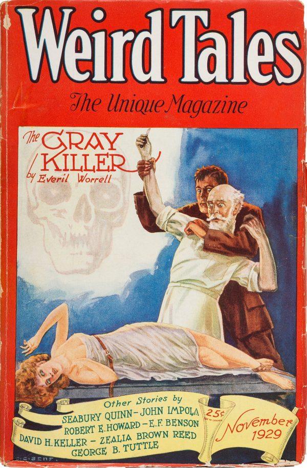 Weird Tales Magazine - November 1929