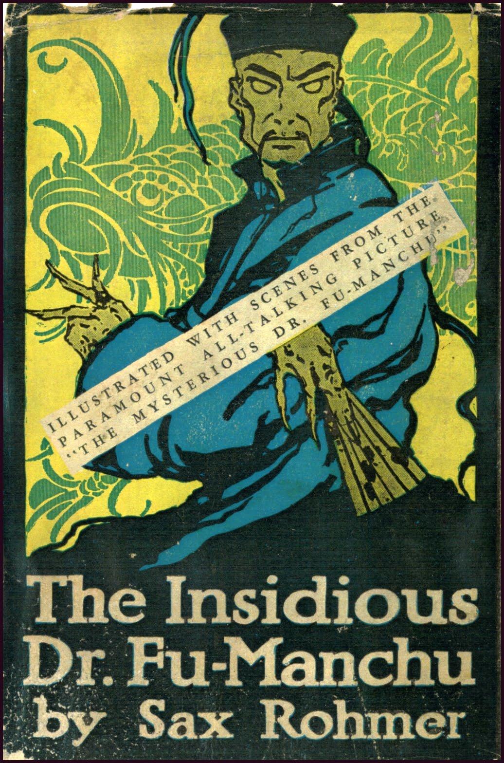 f7ebcfbccfb43 The Insidious Dr. Fu Manchu – Pulp Covers